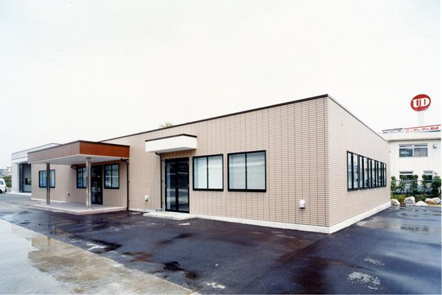 事務所・洗車場 事務所・洗車場|施工事例一覧|郡リース株式会社